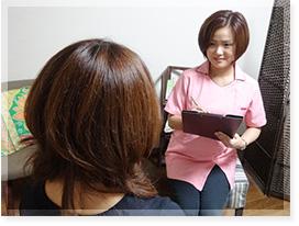 美容鍼灸施術の流れ01